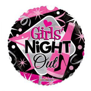 Folieballon Girls Night Out