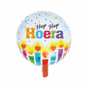 Folieballon Happy Birthday neon