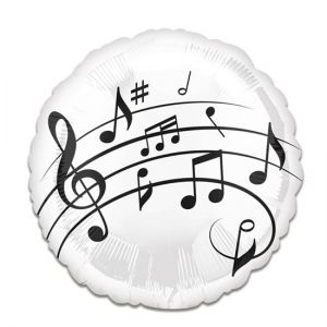 Folieballon Music Fun