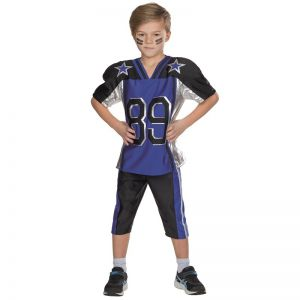 American Footballer blauw