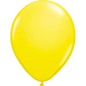 Ballonnen nr. 14 Geel Metallic (10 stuks)