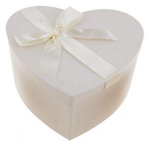 Geschenkdoos Wit Hartvorm Groot