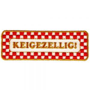 Strijkapplicatie Brabantse Uitspraken - Keigezellig