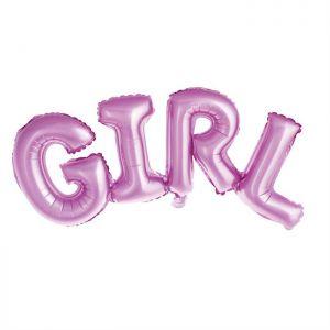 Folieballon Set Baby Girl 40 cm