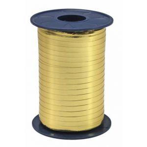 Ballonnen Polyband metallic goud 5 mm/400 meter