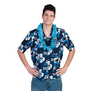 Hawaii Blouse Blue Flower