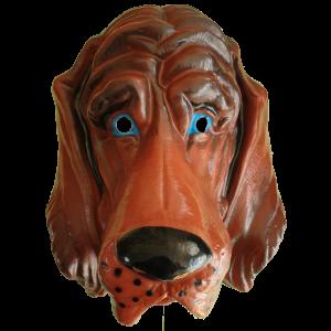 Masker XXL Hond Bruin