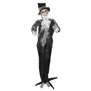 Scary clown met meisje in kooi