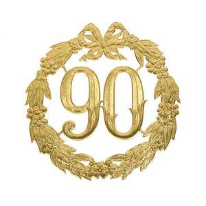 Jubileum Bord 90 Jaar
