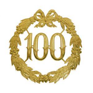 Jubileum Bord 100 Jaar