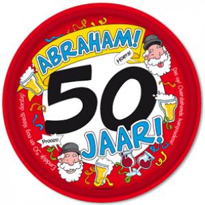 Dienblad 50 Jaar Abraham
