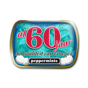 Mini Mints - 60  jaar
