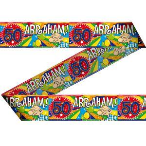 Afzetlint 50 jaar Abraham