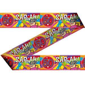 Afzetlint 50 jaar Sarah