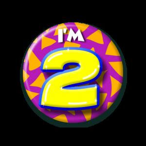 Button klein 2 jaar