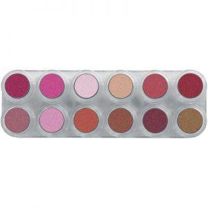 Grimas Lipstick Palette 12LP