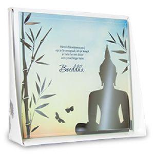 Silver Silhouette - Boeddha