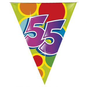 (w) Vlaggenlijn 55 Jaar (10 m.)