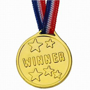 Medailles Kampioen (6 Stuks)