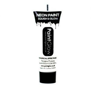 Uv Neon Paint : wit