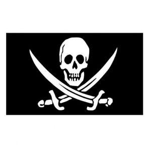 Vlag piraat (90x150 cm.)