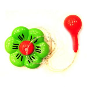 Bloem met waterspuit groen