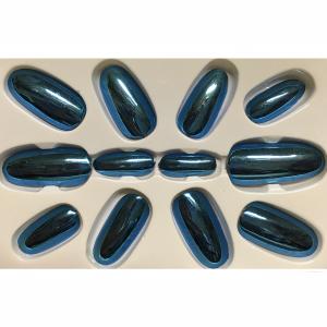 Nagels Metalic Blauw