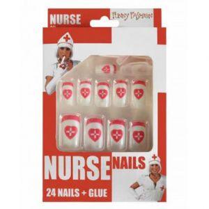 Nagels 24 stuks Verpleegster