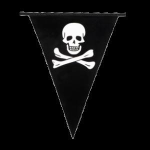 Vlaggenlijn Piraat (6 Meter)