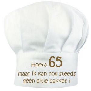 Koksmuts - Hoera 65 maar ik nog steeds geen eitje bakken