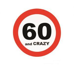 Verkeersbord 60 Jaar (50cm.)