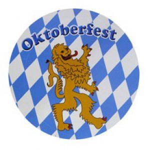 Oktoberfest Onderzetters/Magneet  (6 stuks)