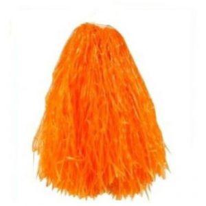 Pom Pom Oranje (2 stuks)