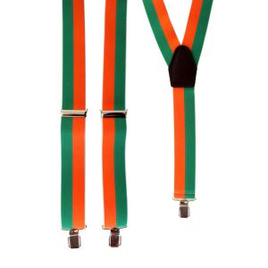 Bretels Oranje/ Groen
