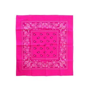 Bandana Fluor roze