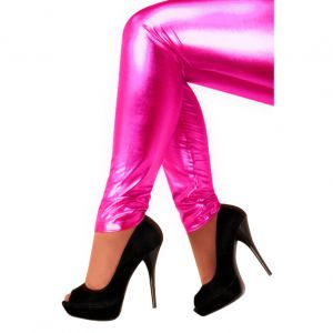 Legging Metallic Pink