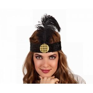 Charleston Headband Black