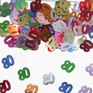 Confetti 80 jaar