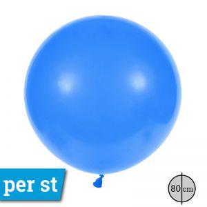 Reuze Ballon 80 cm Blauw
