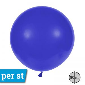 Reuze Ballon 80 cm Donker Blauw