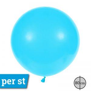Reuze Ballon 80 cm Licht Blauw
