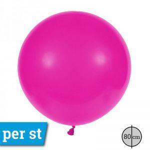 Reuze Ballon 80 cm Hot Pink