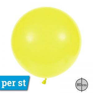 Reuze Ballon 80 cm Geel