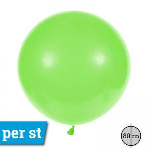 Reuze Ballon 80 cm Pastel Lime