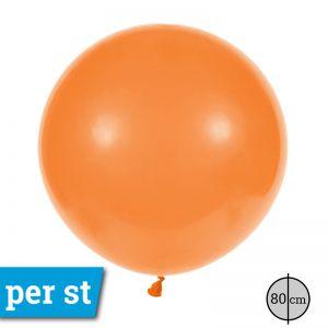 Reuze Ballon 80 cm Oranje