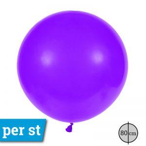Reuze Ballon 80 cm Paars