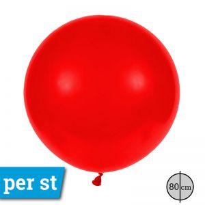 Reuze Ballon 80 cm Rood