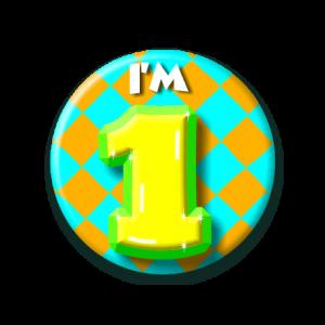 Button klein 1 jaar