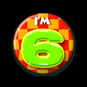 Button klein 6 jaar