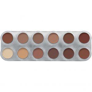 Grimas Eyeshadow Rouge 12 Palette RZ